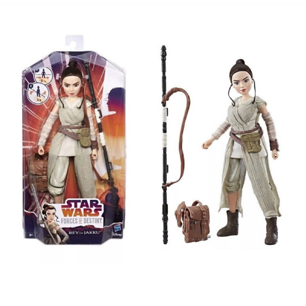 Star Wars Forces of Destiny Rey of Jakku Adventure Toy Figure Set - Hasbro C1622